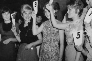 Designbüro Damenwahl Tanzkarte 1
