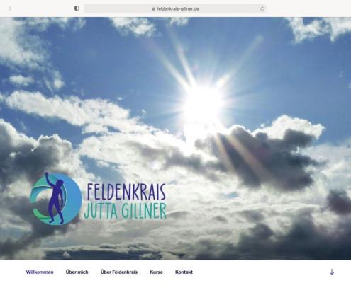 Feldenkrais Jutta Gillner Website