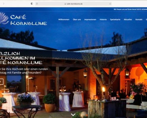 Café Kornblume Website