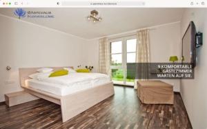 Gästehaus Kornblume Website