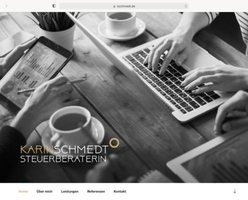 Karin Schmedt Website