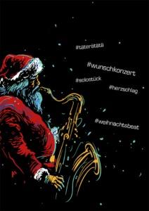 MOStron Elektronik Weihnachtskarte 2020 außen
