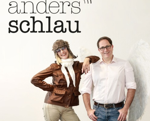 AndersSchlau Logo Podcast